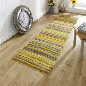 Carter Ochre Stripe Runner