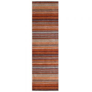 Carter Rust Stripe Runner
