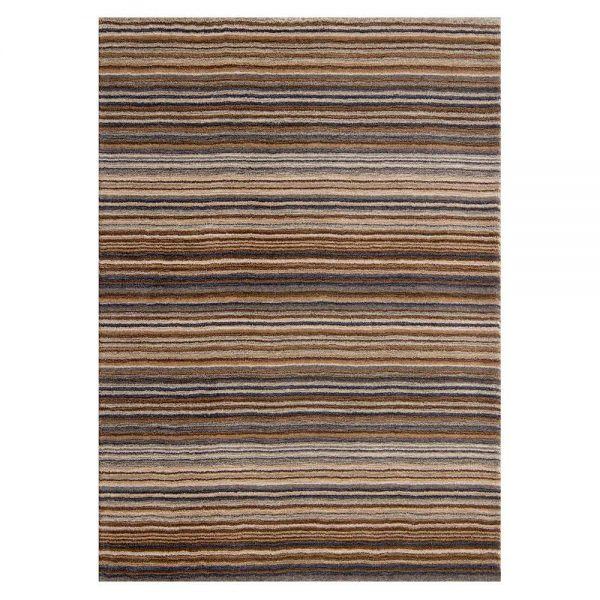 Natural stripe rug