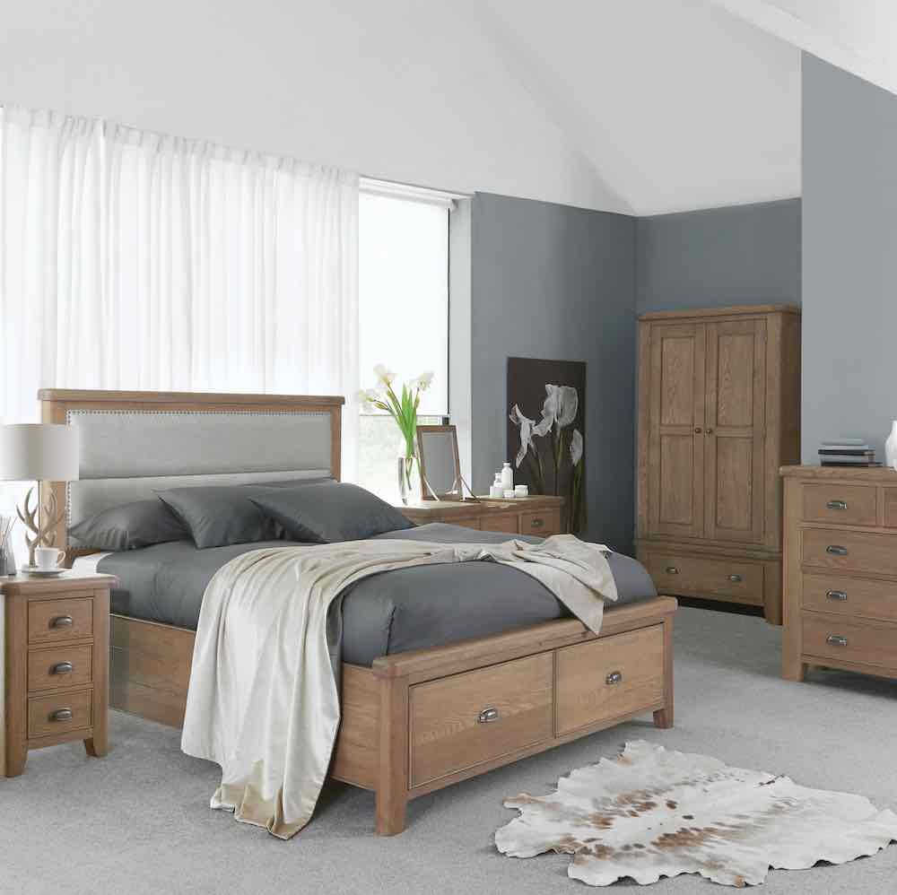 Sawley bedroom collection lifestyle image