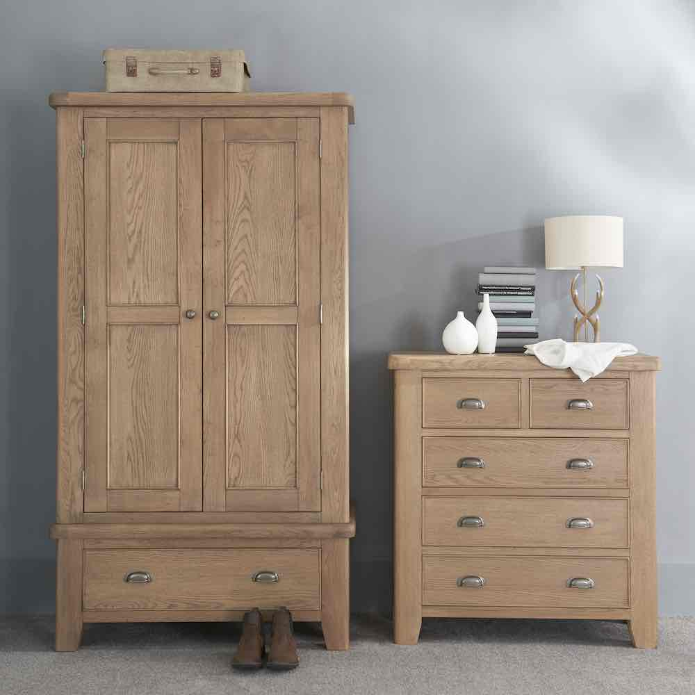 Sawley 5 Drawer Chest lifestyle image