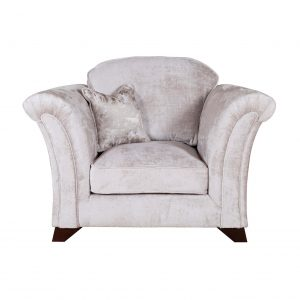 Vesper fabric armchair