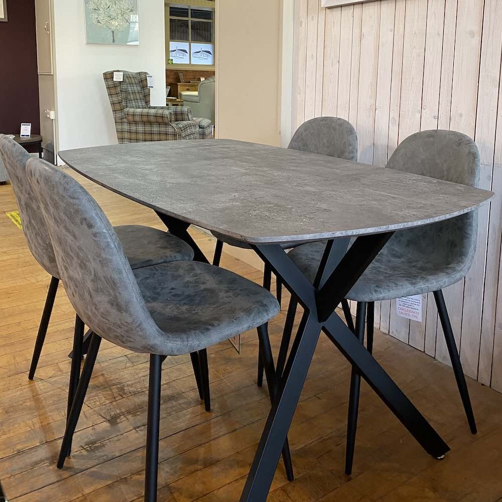 Athens Grey dining set