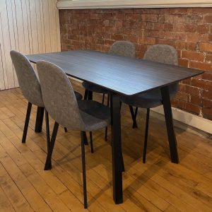 Berlin Grey dining set