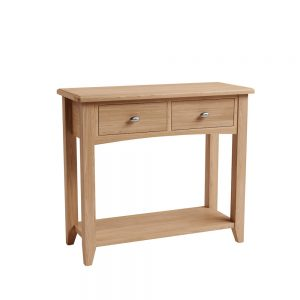 Galaxy Oak Console Table