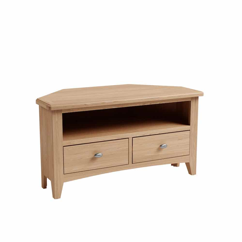 Galaxy Oak Corner TV Unit