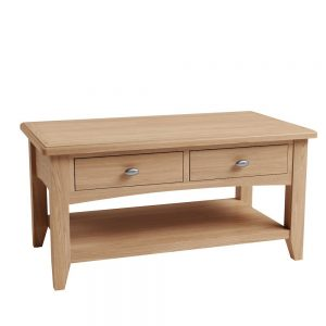 Galaxy Oak Large Coffee Table