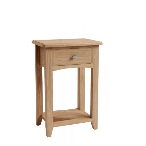Galaxy Oak Small Side Table