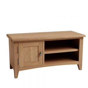 Galaxy Oak Small TV Unit