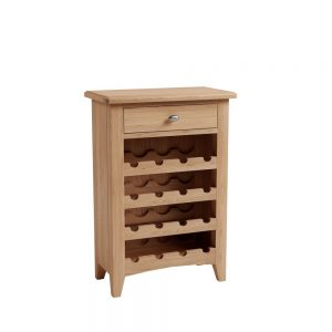 Galaxy Oak Wine Cabinet
