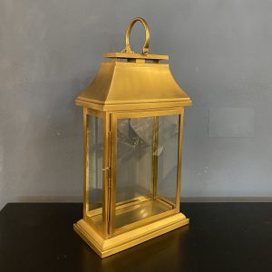 gold rectangular lantern