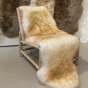 Ivory Tipped Sheepskin Rug