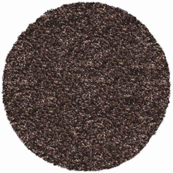 Twilight Brown Round Rug