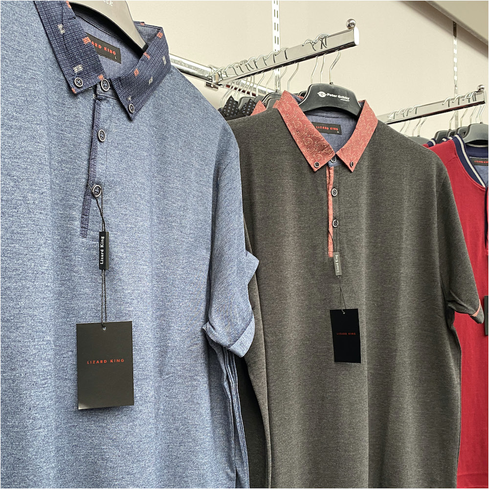menswear polo shirts