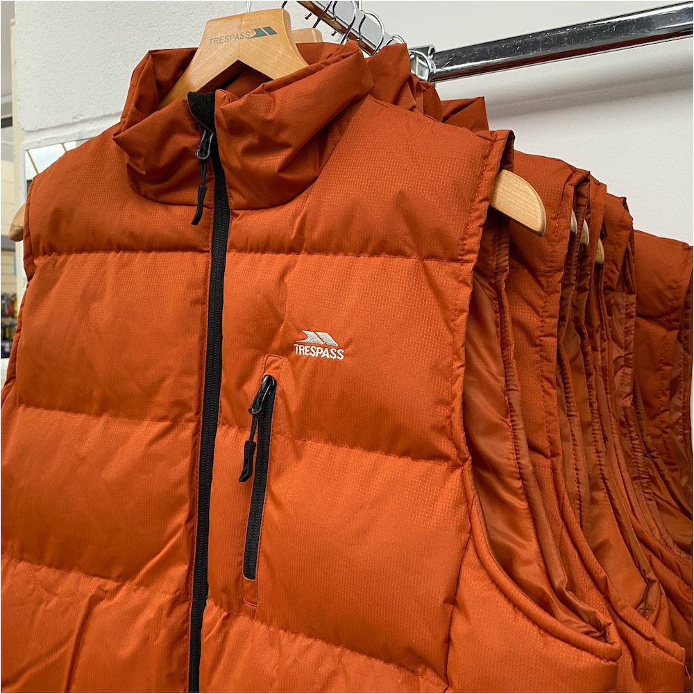Trespass orange gilet