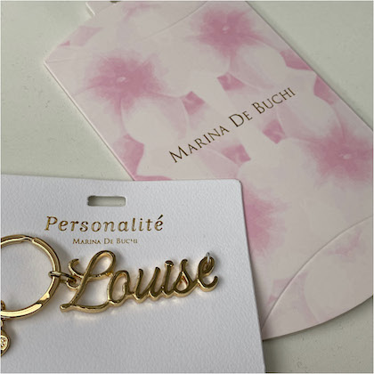 Personalised bags charms