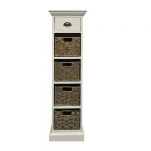 Chatham 1 Drawer 4 Basket Unit