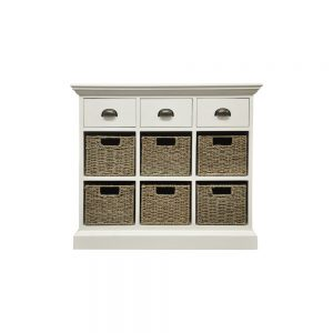 Chatham 3 Drawer 6 Basket Unit