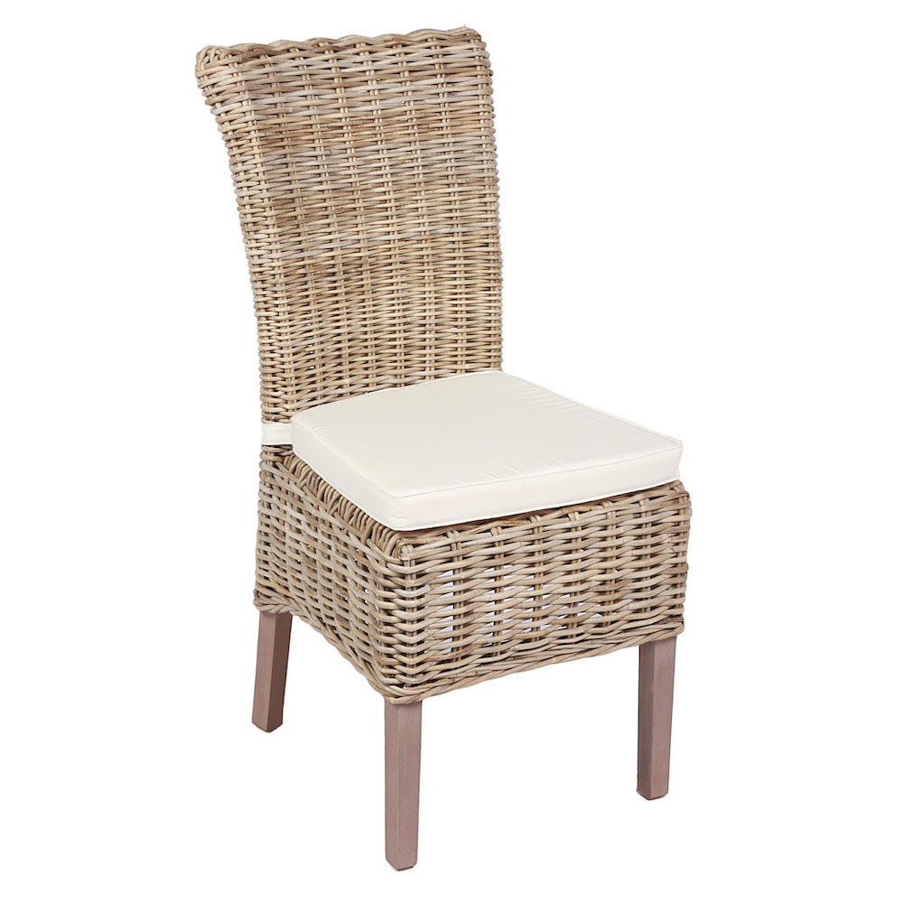 Chatham Natural Wicker Dining Chair