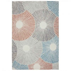 Gardenia Seashell Grey Rug