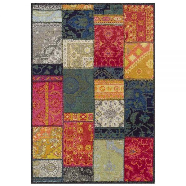 Kaleidoscope 9Z Multi coloured rug