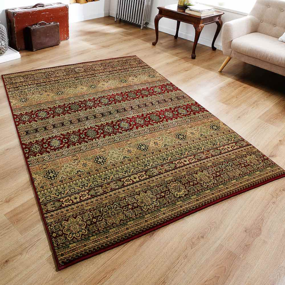 Kendra 135R Red Moroccan Rug