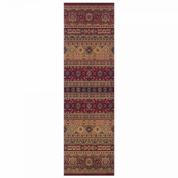 Kendra 135R Red Moroccan Runner