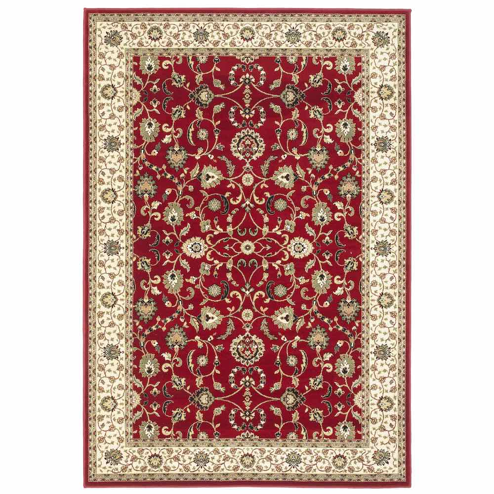 Kendra 137R Red Traditional Rug