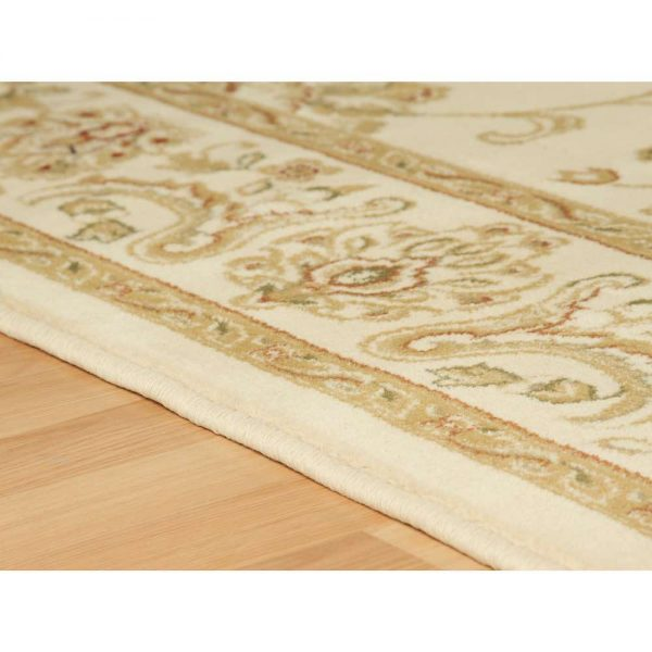 Kendra 2330X Cream Traditional Rug edge