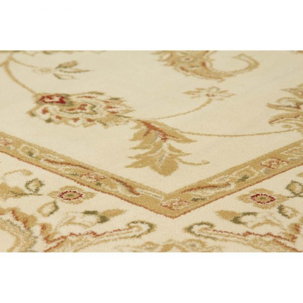 Kendra 2330X Cream Traditional Rug close-up