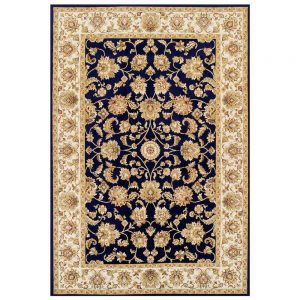 Kendra 3330B Blue Traditional Rug