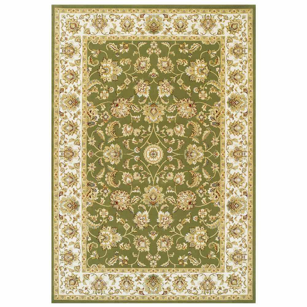 Kendra 3330G Green Traditional Rug