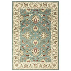 Kendra 45L Green Traditional Rug