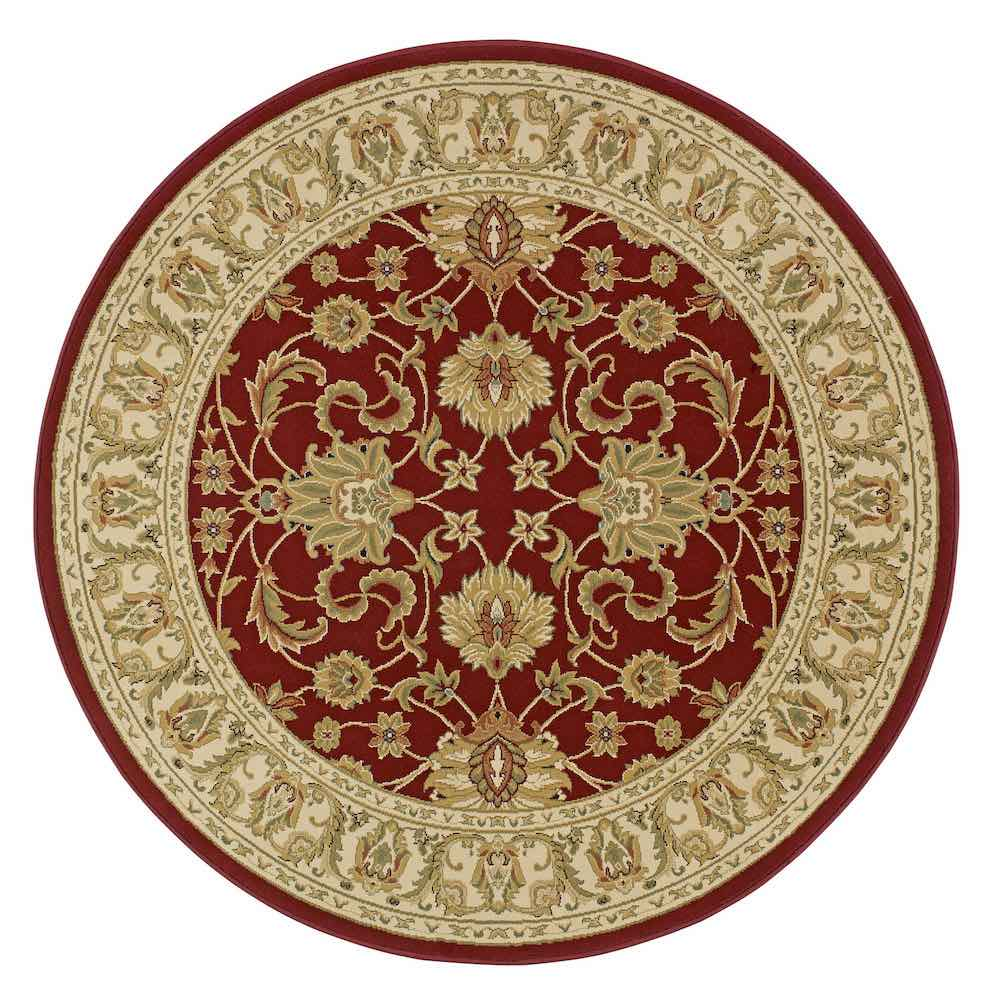 Kendra 45M Red Round Rug