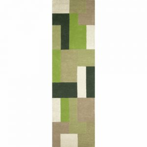 Lexus Green Wool Runner