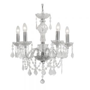 Marie Therese 5 Arm Chandelier