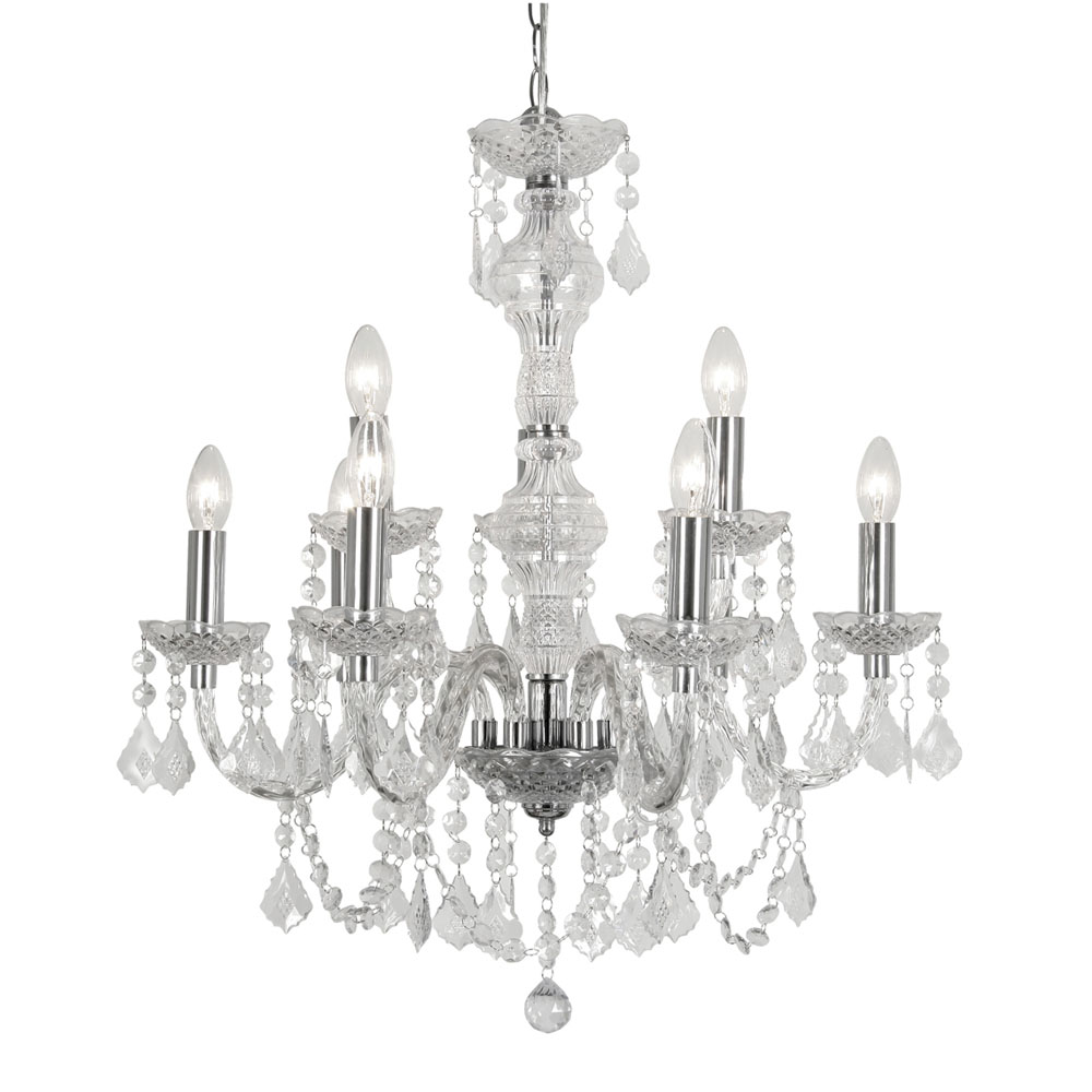 Marie Therese 8 arm Chandelier