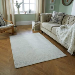 Milano Grey Wool Rug