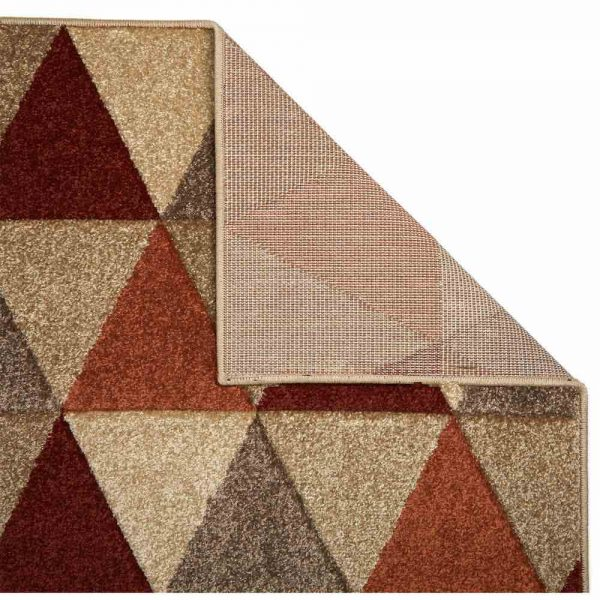 Portland 663J Geometric Rug backing