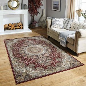 Tabriz 2060R Persian Style Rug roomshot