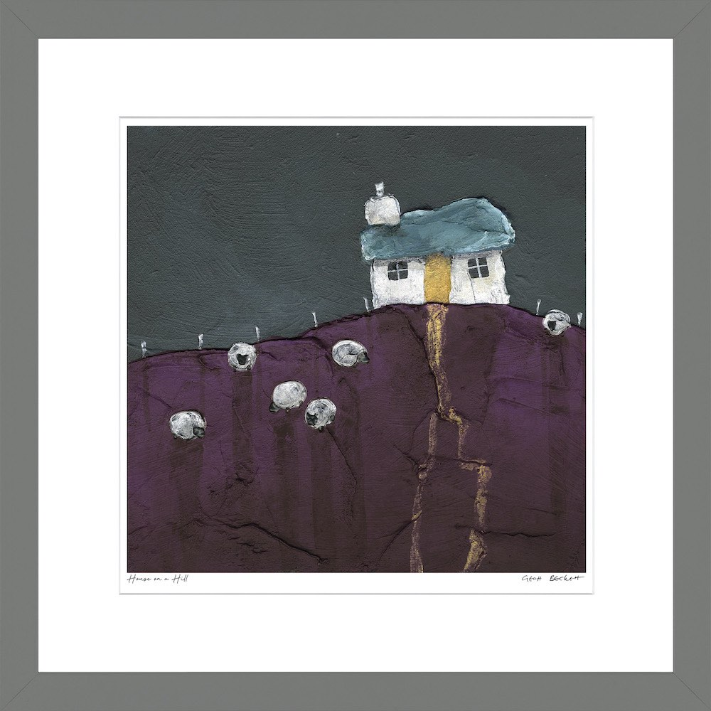 House on a Hill by Geoff Beckett